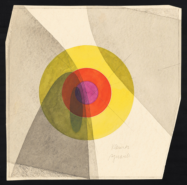 , 'Form and Color Study,'  1929-1930, J. Paul Getty Museum