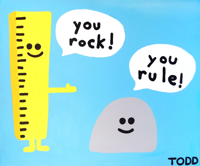 , 'You Rock You Rule,' , The Ross Art Group Inc.