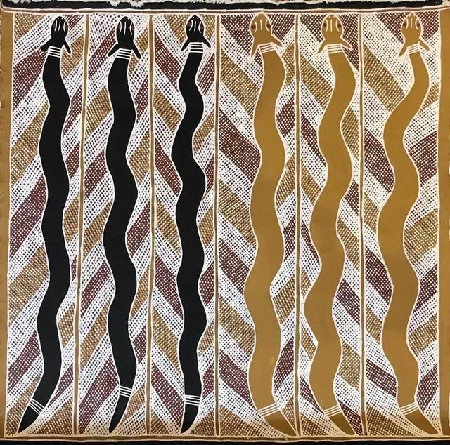 Anita Ganbuganbu, 'Mangrove Snakes', 1995, Gannon House Gallery