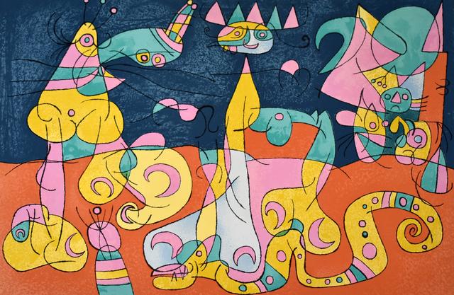 Joan Miró, 'The Review III', 1966, Gilden's Art Gallery