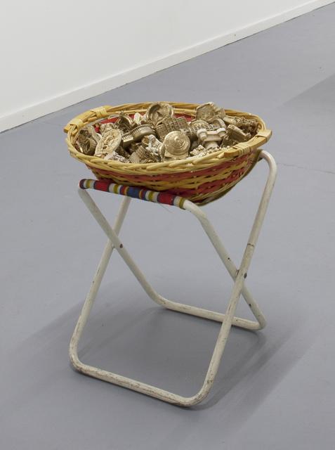 , 'Golden monument piece,' 2015, Galerie Maria Bernheim