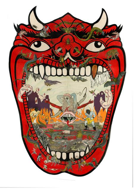 , 'An Appetite for Flesh & Bone, Lies and Cowardice (Hellmouth),' 2017, Jonathan Ferrara Gallery