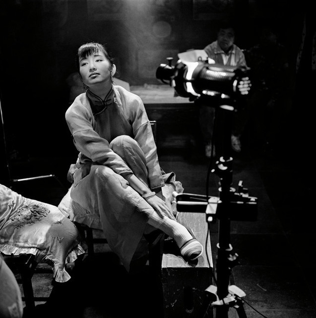 "Patrick Zachmann, 'Making of the film ""Temptress Moon"" directed by Chen KAIGE, Actess Gong LI.', 1995, °CLAIR Galerie"