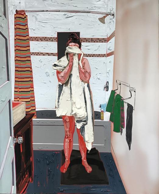 , 'Towel,' 2017, Galerie Antoine Ertaskiran