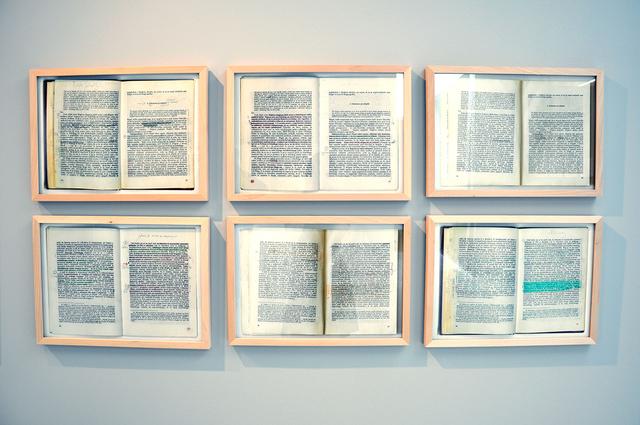 , 'Mladen Dolar, Heglova Fenomenologija Duha 1, pp. 22-23,' 2019-2013, P74 Gallery
