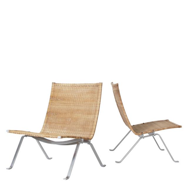 , 'Pair of PK 22 chairs,' 1956, Dansk Møbelkunst Gallery
