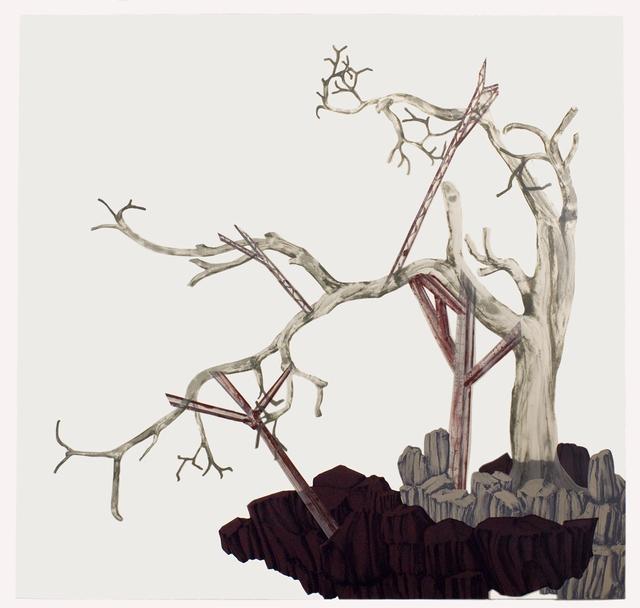 , 'Parasites, Prosthetics, Parallels, and Partners (6),' 2017, Tamarind Institute
