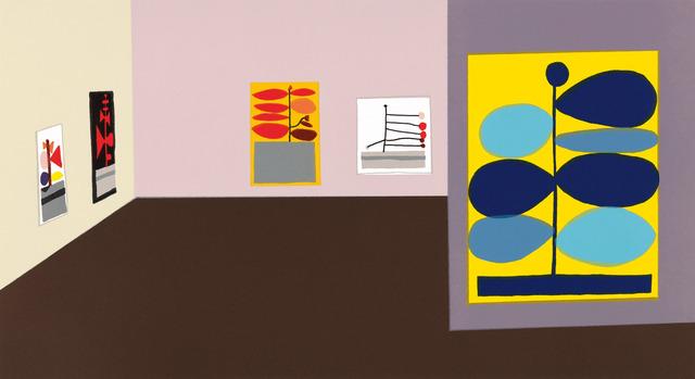 , 'Hammer Interior,' 2016, Gagosian