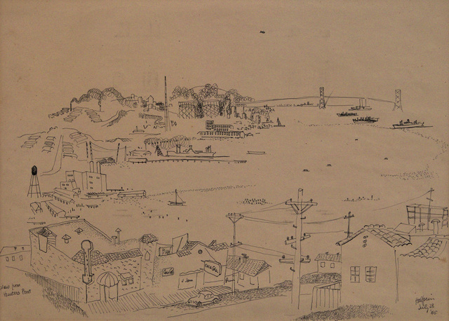 , 'View From Hunter's Point, San Francisco, July 28,' 1945, Edward Cella Art and Architecture