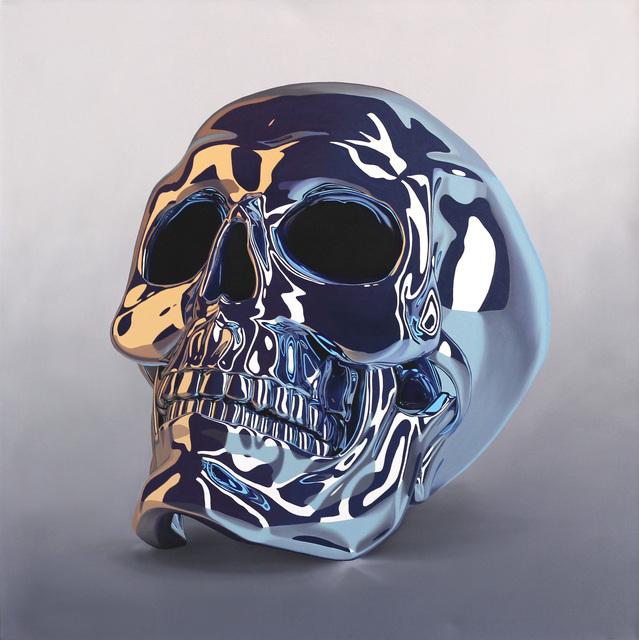 , 'Skull Blue,' 2018, Artspace Warehouse