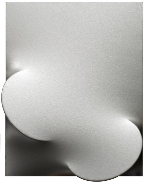 , 'Due ovali metallizzati,' 2006, Mazzoleni