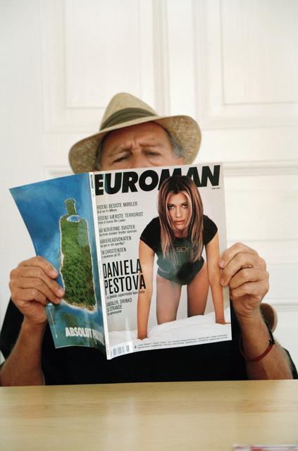 , 'Self-Portrait Pretending to Be Euroman,' 2008, Christine König Galerie