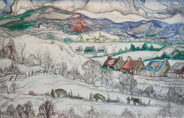 Marc-Aurèle Fortin, 'Winter Village', Cosner Art Gallery