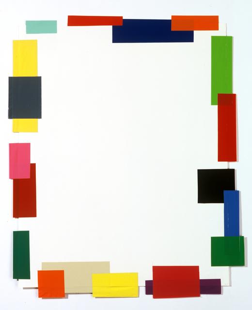 Beat Zoderer, 'Front - Backside (B)', 1997, Taubert Contemporary