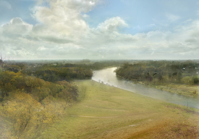 , 'View from Richmond Hill (after JMW Turner, 1815) ,' 2009, GBS Fine Art