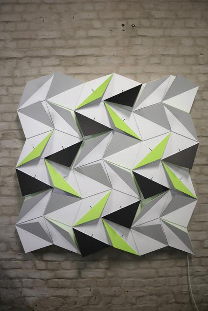 Lab[au], 'Origami Snubsquare (18 Rhombi X 18 Squares) ', 2018, Mario Mauroner Contemporary Art Salzburg-Vienna