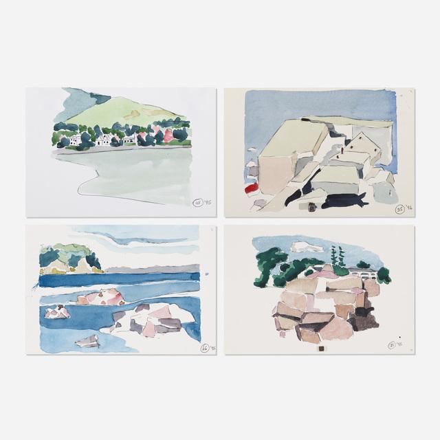 Robert Herrmann, 'Untitled (four works)', 1995-96, Wright