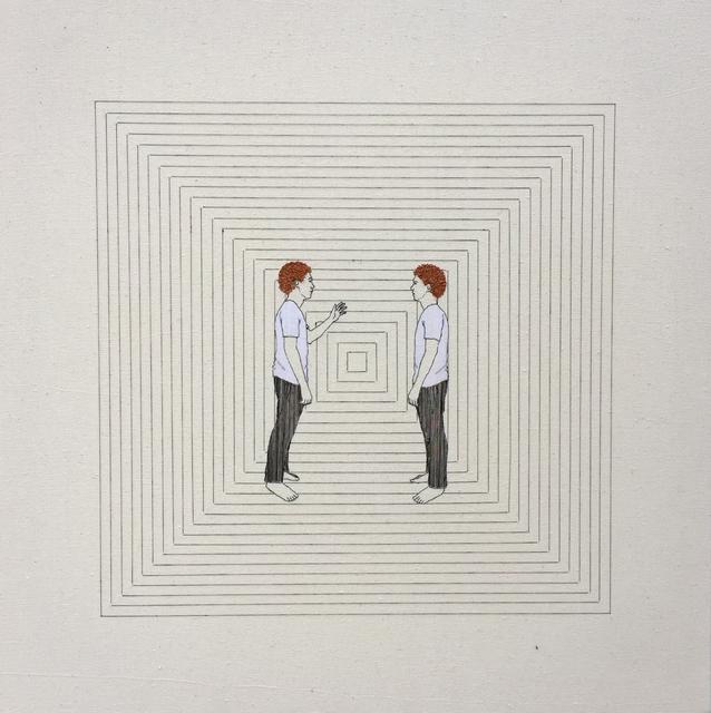 """, 'Série """"reflexões"""" (2),' 2016, Gabinete de Arte k2o"""