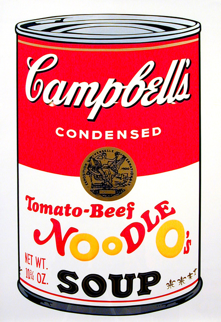 , 'Tomato-Beef Noodle O's,' 1969, Brooke Alexander, Inc.