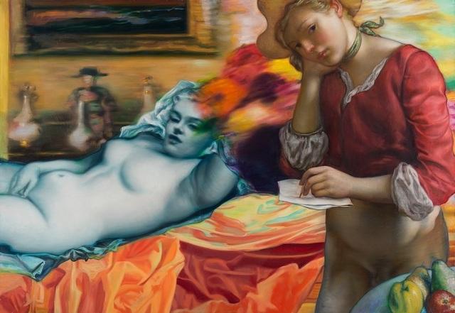 , 'Blue Marilyn,' 2016, Philip Slein Gallery