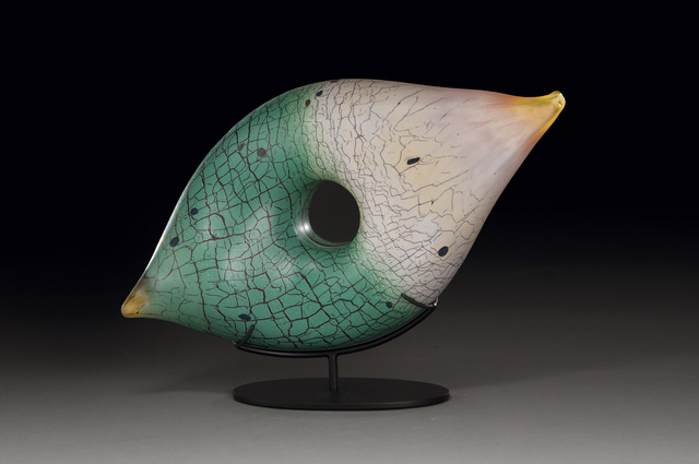 Peter Wright, 'Ocher Jade Seed', 2019, Bryant Nagel Galleries