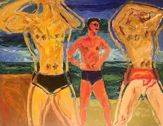 , 'Untitled (Male Bathers at the Beach),' 1961, Richard Norton Gallery