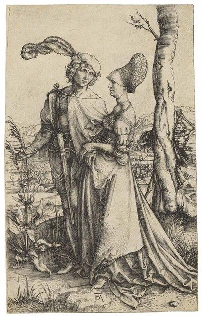 , 'The Promenade (B. 94; M., Holl. 83; S.M.S. 19),' ca. 1498, Christie's Old Masters