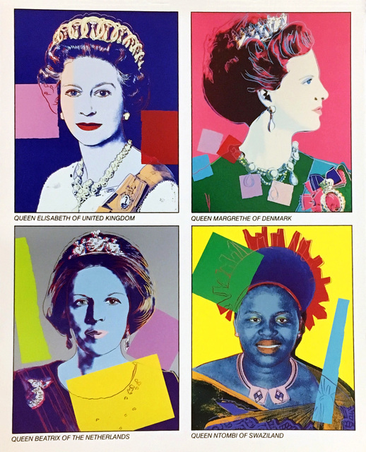 Andy Warhol, 'Warhol Reigning Queens (Castelli announcement)', 1985, Ephemera or Merchandise, Offset lithograph, Lot 180