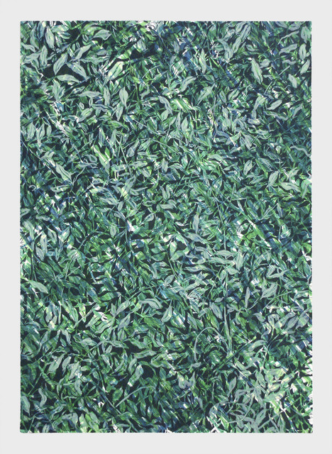 Doug Argue, 'Leaf (Green)', 2003, 100 MEATBALLS × VEL