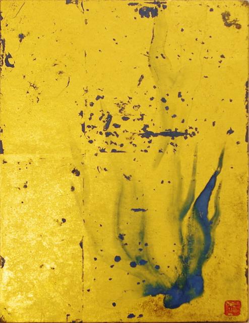 , 'Golden Fire- Azurite Flames,' 2007, Artrue Gallery