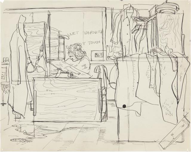 , 'Untitled,' c. 1944–45, Richard Diebenkorn Foundation
