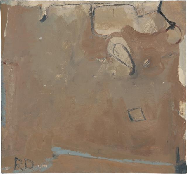 , 'Untitled (Albuquerque),' c. 1950–51, Richard Diebenkorn Foundation