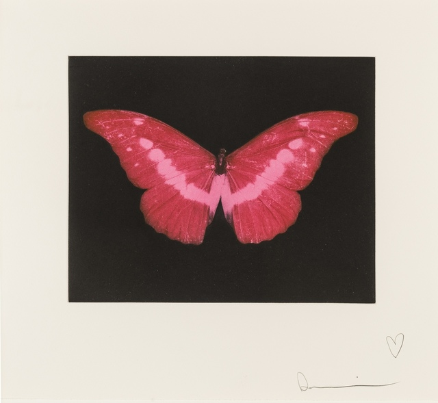 Damien Hirst, 'To Lose (Red Butterfly)', 2008, Forum Auctions