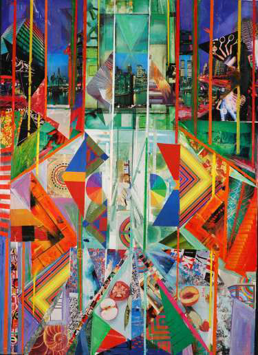 , 'Urban Technicolor,' 2006, Fountain House Gallery