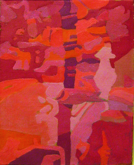 , 'Red Stream,' 1977, Walter Wickiser Gallery