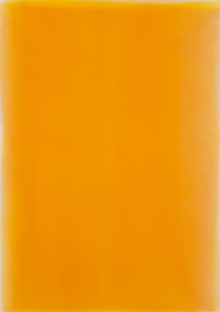, 'Breathing light-orange breeze,' 2015, Gaain Gallery
