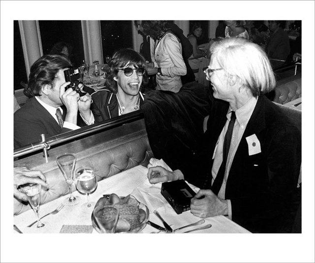 , 'Mick Jagger, Andy Warhol, Windows on the World,' , ArtStar