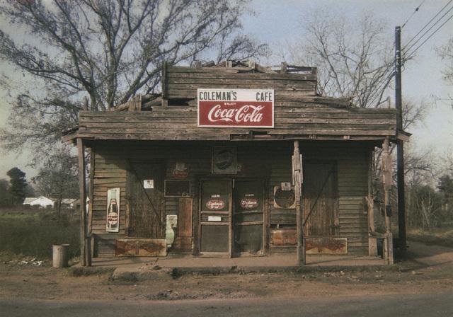 , 'Coleman's Café, Greensboro, Alabama,' 1971, Pace/MacGill Gallery