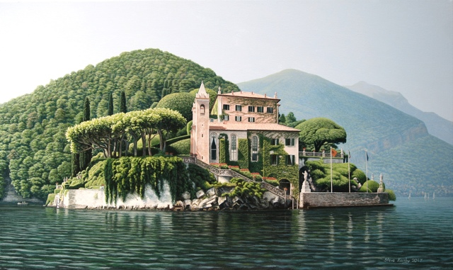 , 'The Tranquil Waters around the Villa Balbianello,' 2017, Portal Painters