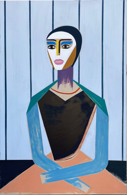 Henrik Godsk, 'Wallpaper', 2020, Painting, Oil on canvas, Piermarq
