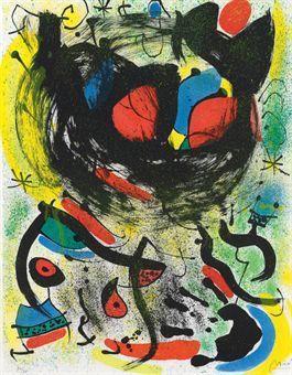 Joan Miró, 'Les Voyants 661', 1970, The WhiteHouse Gallery Johannesburg