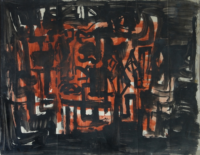 , 'HYD Abstraction,' 1963, Aicon Gallery