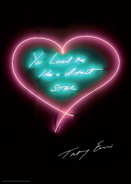 Tracey Emin, 'You Loved Me Like a Distant Star', 2012, EHC Fine Art Gallery Auction