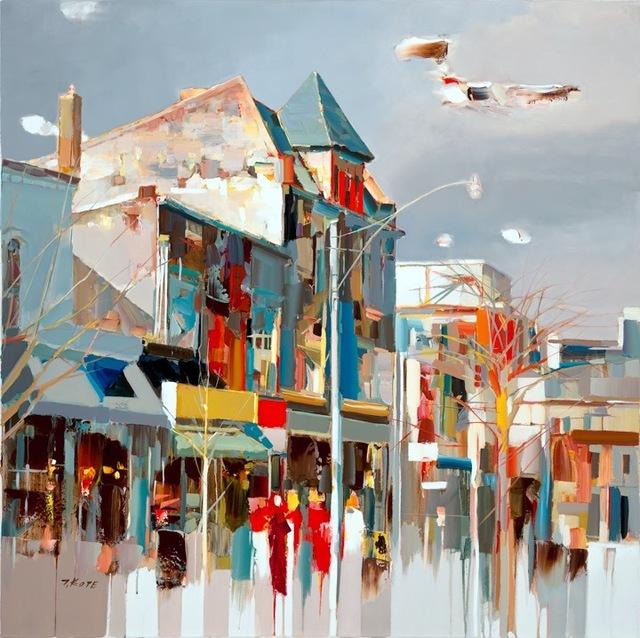Josef Kote, 'Clear Sky', 2016-2018, Dean Day Gallery