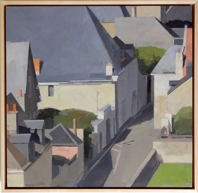 , 'Village View, France,' 2017, Elins Eagles-Smith Gallery