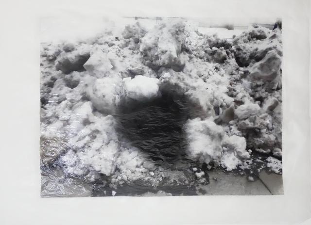 , 'dark.snow,' 2014, Galerie Krinzinger