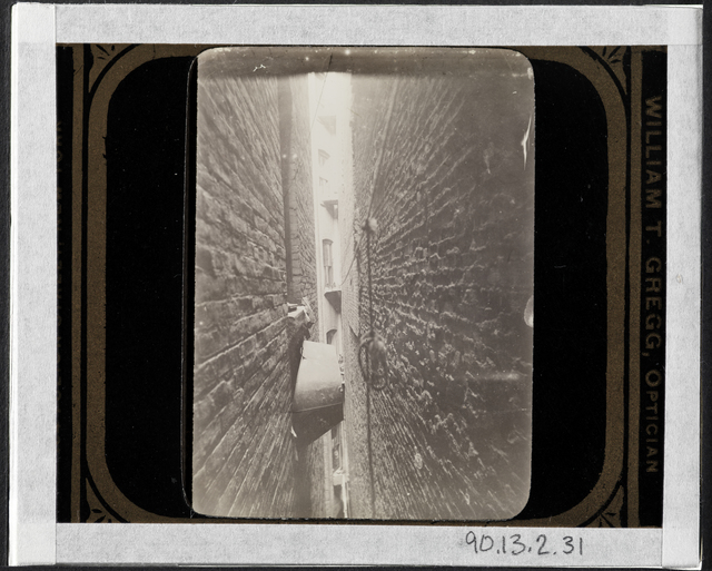 Jacob A. Riis, 'Bath-tub in airshaft', ca. 1897, Museum of the City of New York