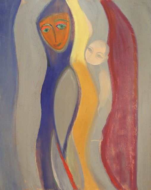 , 'The Mother and Child,' 1973, TNK Art Gallery