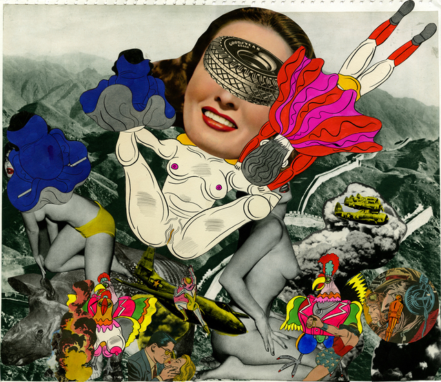 , 'Collagebook41,' 1969, Nanzuka
