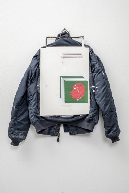 , 'Screen Jacket (Wildly Overcommit),' 2017, Simon Lee Gallery